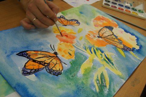 «Бабочки – апельсинки» — мастер-класс Ольги Бакицкой