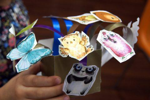 Мастер-класс «Открытка «Pop-Up box card»